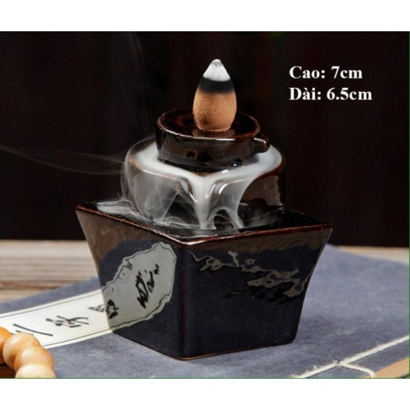 Thác Khói Phong Thủy - Thác khói Nhang Thiền