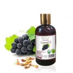 Dầu Hạt Nho Nguyên Chất Organic - Organic Grapeseed Oil 236ml - TT Natural Look (Quà Từ Thiên Nhiên)