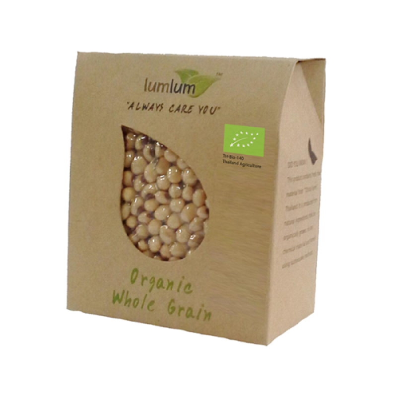 Hạt đậu nành hữu cơ 250g -  Organic Soy Bean - LumLum
