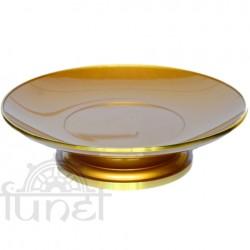 Dĩa đồng (vàng)