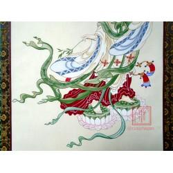 Tranh vẽ Dương Liễu Quán Âm 2- Pháp An