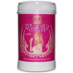 Sữa Dê Làm Đẹp Da – Giữ Vóc Dáng - Wish U2 (425g/hộp)